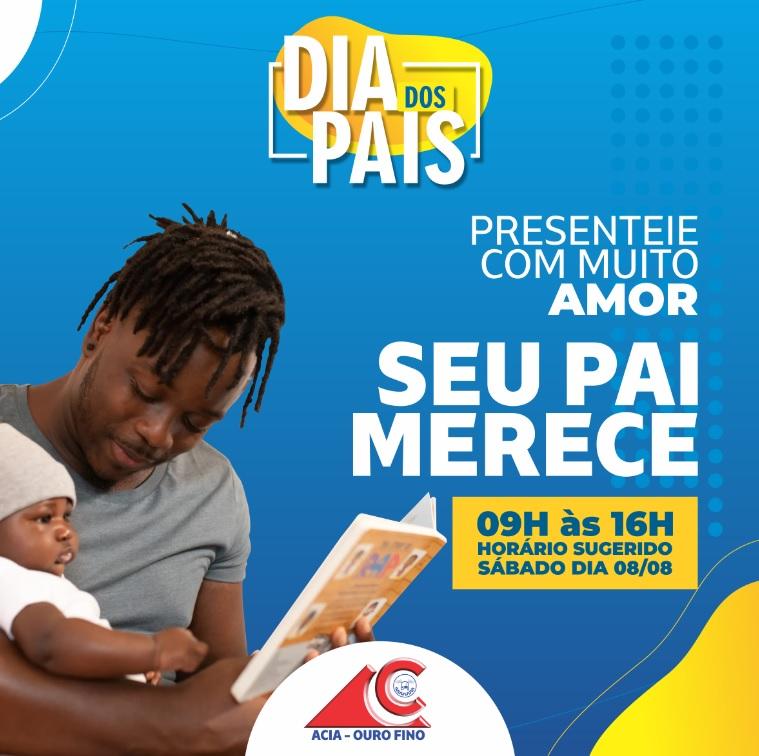 SUGESTÃO HORÁRIO DE FUNCIONAMENTO DIA DOS PAIS 2020