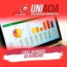 Inicio dos Cursos da UNIACIA - Curso Excel